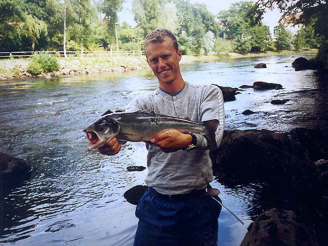 Laksefiskeri for den lille pengepung