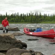 Laino elv - kano - bækørreder
