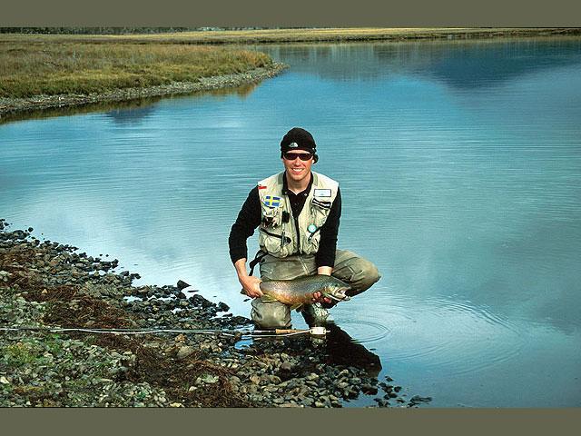 Ildlandet, Chile - fiskeri efter megaørreder