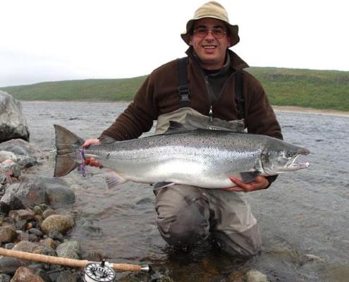 Tana, laks,laksefiskeri,Norge,salmon