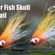 Amber-Fish-Skull-Bucktail-fly-tying