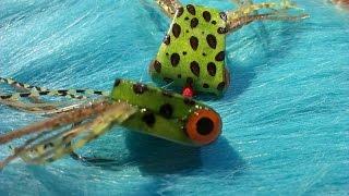 Bass-fly-tying-Simple-Foam-Frog