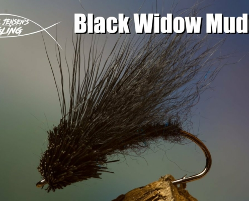 Black-Widow-Muddler-streamer-and-saltwater-fly-tying