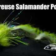 Chartreuse-Salamander-Popper-pike-musky-and-bass-fly-tying