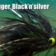 Fat-Bugger-Blacknsilver-streamer-fly-tying