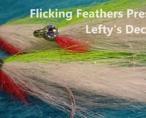 Fly-Tying-Leftys-Deceiver-Salt-Water-Baitfish-Fly