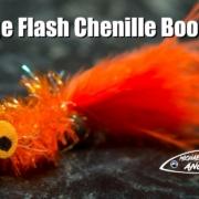 Orange-Flash-Chenille-Booby-fly-tying