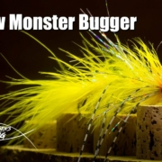 Yellow-Monster-Bugger-articulated-streamer-fly-tying