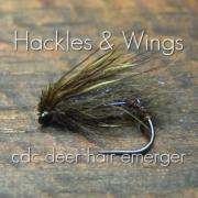 Fly-Tying-CdC-Deer-Hair-Emerger-Hackles-Wings