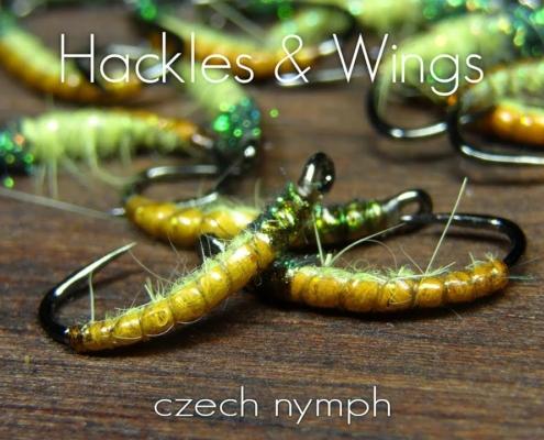 Fly-Tying-Czech-Nymph-Hackles-Wings