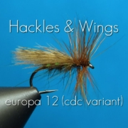 Fly-Tying-Europa-12-cdc-variant-Hackles-Wings