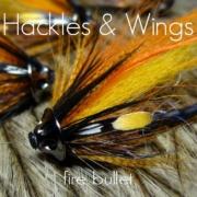 Fly-Tying-Fire-Bullet-Hackles-Wings