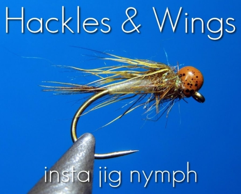 Fly-Tying-Insta-Jig-Nymph-Hackles-Wings