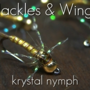 Fly-Tying-Krystal-Nymph-Hackles-Wings