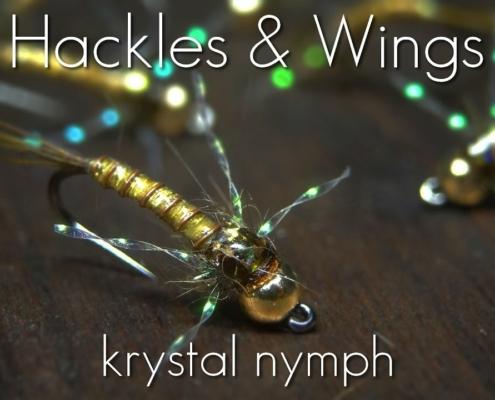 Fly-Tying-Krystal-Nymph-Hackles-Wings