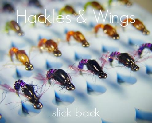 Fly-Tying-Slick-Back-Baetis-Hackles-Wings