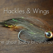 Fly-Tying-The-Ghost-Baby-Browntrout-Hackles-Wings