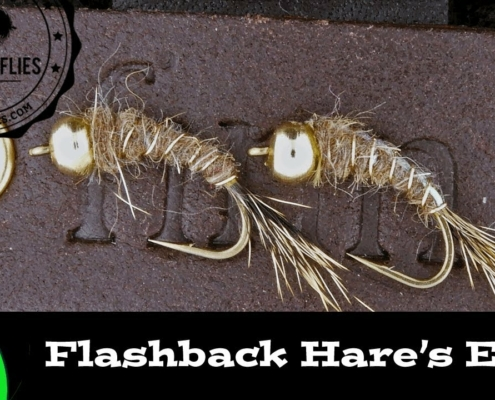 Fly-Tying-a-Bead-Head-Flashback-Hares-Ear-Nymph-Trout-Fly-Ep-105-PF