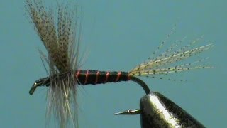 Fly-Tying-a-Classic-Dry-Fly-the-Barber-Pole-with-Jim-Misiura