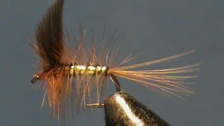 Fly-Tying-a-Wickhams-Fancy-with-Jim-Misiura