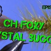Fly-Tying-the-Cone-Head-Foxy-Crystal-Bugger-Fly-pattern-Woolly-Bugger-Variation-Ep-92-PF