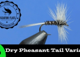 Fly-Tying-the-Dry-Pheasant-Tail-variant-Trout-Fly-Pattern-Ep-110-PF
