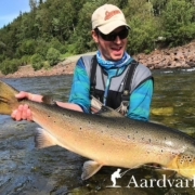 Fly-fishing-Winsnes-Gaula