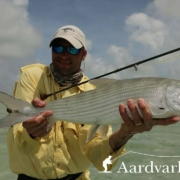Fly-fishing-from-Bairs-Lodge-Bahamas