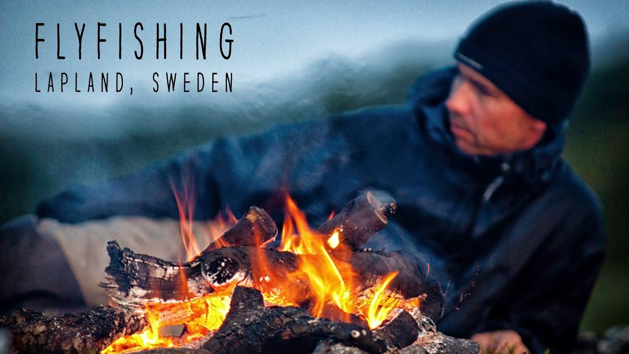 Flyfishing-in-Lapland-Sweden