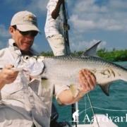 Tarpon-fishing-from-El-Pescador-Lodge-Belize