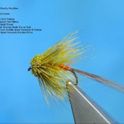 Tying-a-Golden-Yellow-Mayfly-Muddler-by-Davie-McPhail