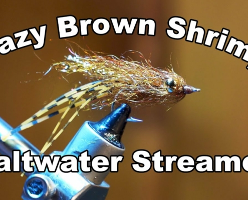 Crazy-Brown-Shrimp-Underwater-Footage-Saltwater-Streamer-McFly-Angler-Fly-Tying-Tutorial