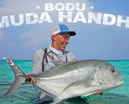 Fly-Fishing-for-GT-Bodu-Muda-Handhi