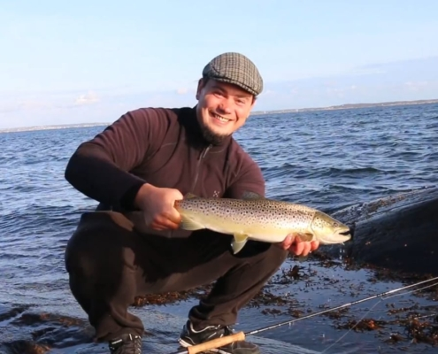 Fly-fishing-for-sea-trout-Sweden