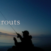 Flyfishing-from-bellyboat-Seatrouts-from-Denmark