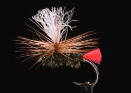 Flytying-Red-Tag-Parachute