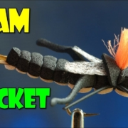 Foam-Cricket-Fly-tying-lesson-video-tutorial-by-Curtis-Fry