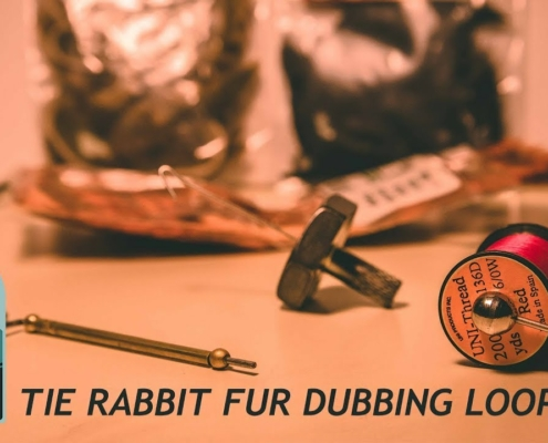 How-To-Tie-Rabbit-Fur-Into-A-Dubbing-Loop-Fly-Tying-Tutorial