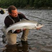 Salmon-fishing-in-Orkla