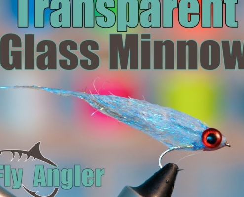 Small-Glass-Minnow-Transparent-Baitfish-Streamer-With-Underwater-Footage