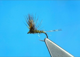 Tying-a-Rough-Olive-Comparadun-Dry-Fly-by-Davie-McPhail