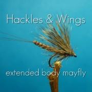 Fly-Tying-Extended-Body-Mayfly