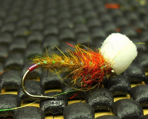 Fly-Tying-Olive-Hare39s-Ear-Suspender-Buzzer-by-Mak