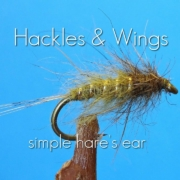 Fly-Tying-Simple-Hares-Ear-Hackles-Wings