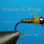 Fly-Tying-UV-Chroma-Frenchie-Hackles-Wings