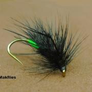 Fly-Tying-a-Black-Sedgehog-by-Mak