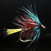 Fly-Tying-a-Claret-Bumble-Wet-Fly-by-Mak