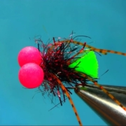 Fly-Tying-a-Flexi-Legs-Booby-Trout-Lure-by-Mak