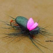 Fly-Tying-a-Foam-Beetle-Dry-Fly-by-Mak