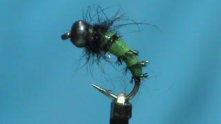 Fly-Tying-a-Ribbed-Caddis-Larva-with-Jim-Misiura